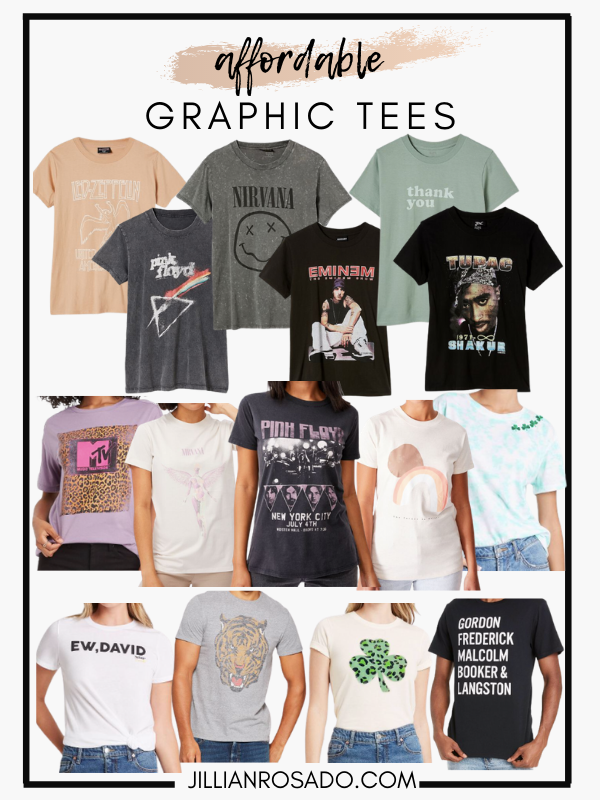 Graphic Tees Under $25