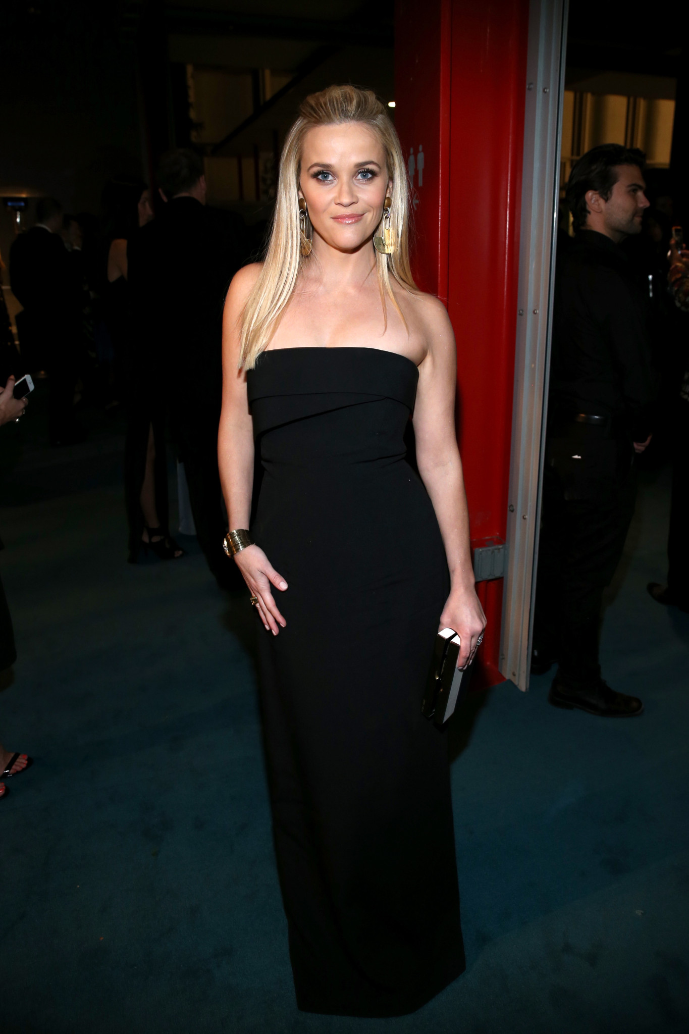 LOS ANGELES, CA - NOVEMBER 07:  Actress Reese Witherspoon attends LACMA 2015 Art+Film Gala Honoring James Turrell and Alejandro G Iñárritu, Presented by Gucci at LACMA on November 7, 2015 in Los Angeles, California.  (Photo by Jonathan Leibson/Getty Images for LACMA) *** Local Caption *** Reese Witherspoon