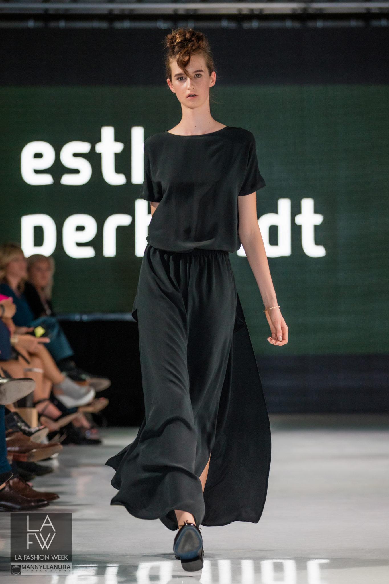 Esther Perbandt Runway LAFW LA Fashion Week 2016