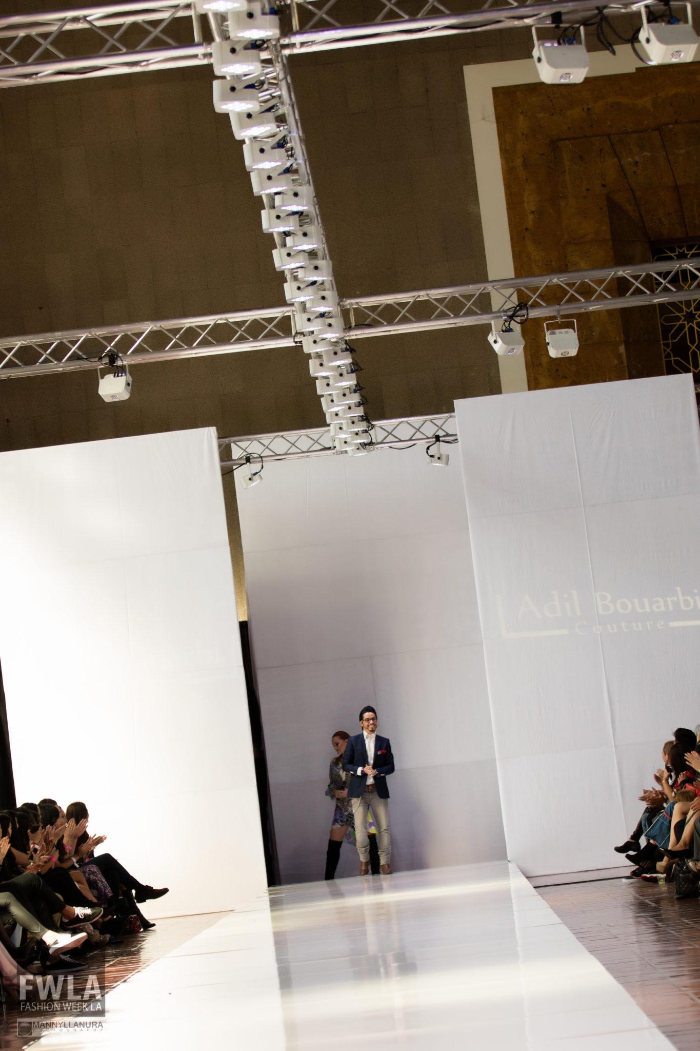 Adil Bouarbi Designer Runway FWLA 2016