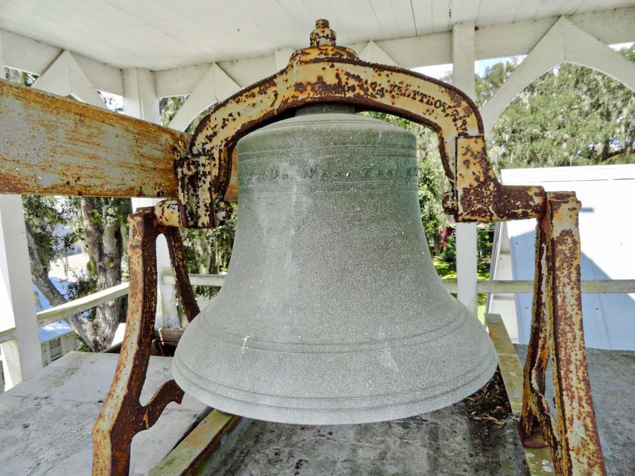 little white church bell