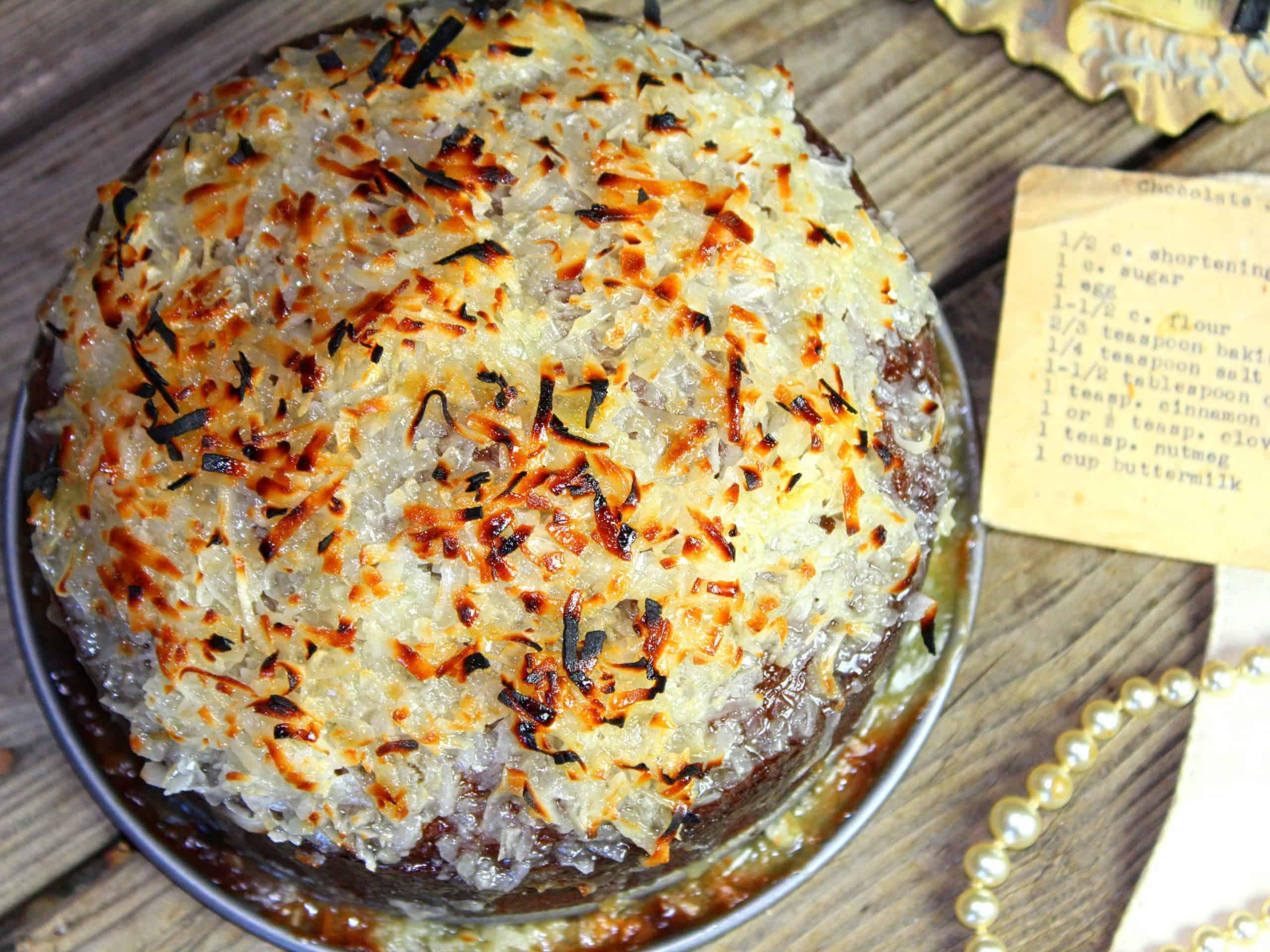 Chocolate spice cake
