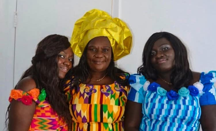 Family from Ghana who values wholistic wellness