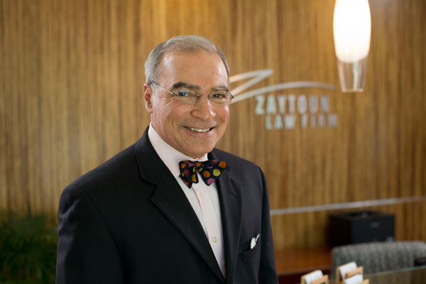 Raleigh personal injury and medical malpractice attorney Robert Zaytoun