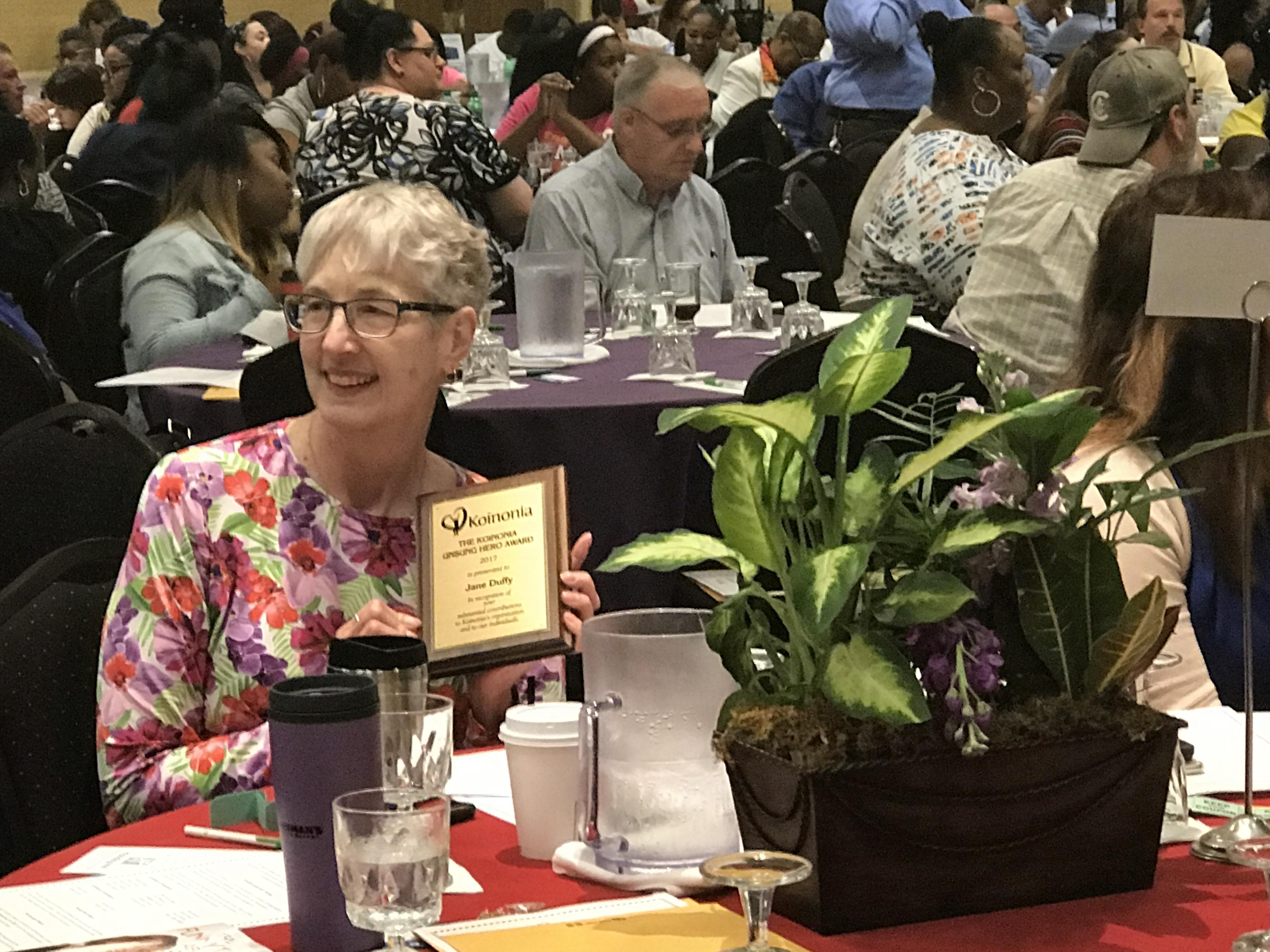 Jane Duffy Unsung Hero Award