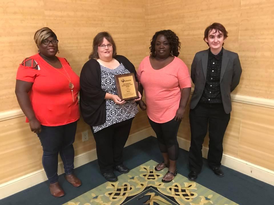 2018 Outstanding Team Award – Beeler House!
