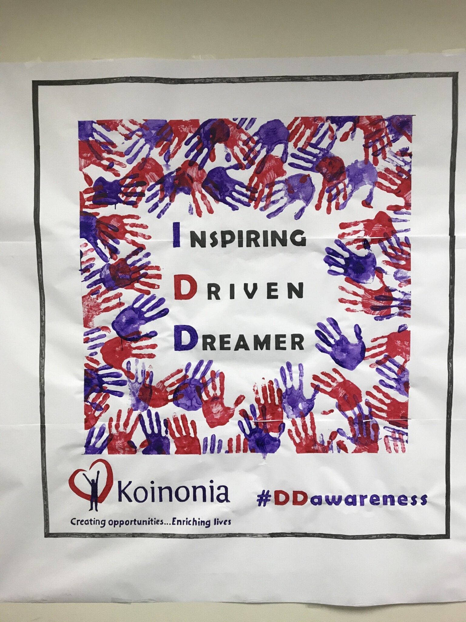 #DDAwarenessMonth2020 Advocacy Mural