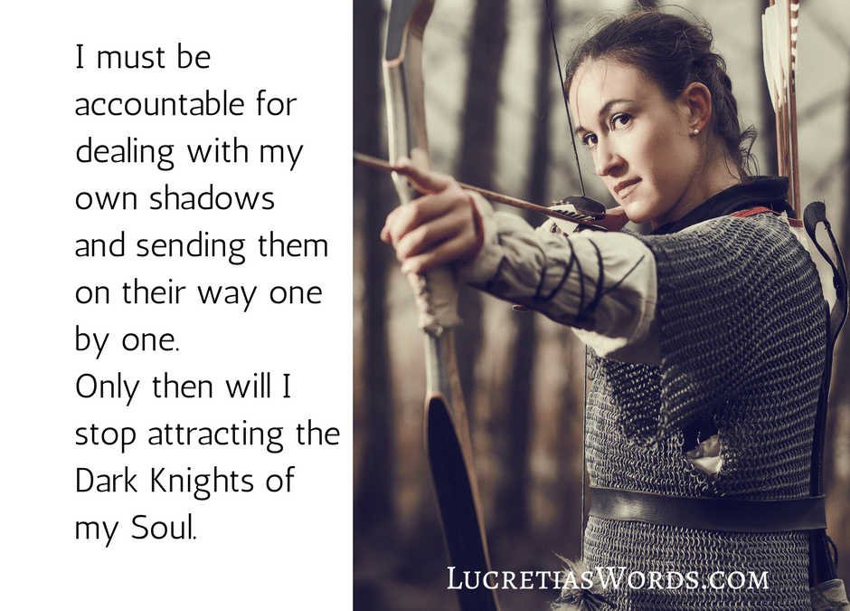 Are you attracting the Dark Knight of Your Own Soul?