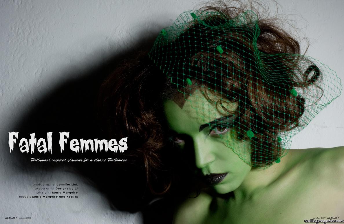 beauty editorial : fatal femmes