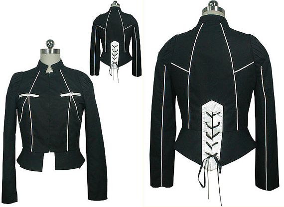item of the week : victorian corset back jacket