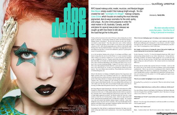 interviews : Doe Deere of Lime Crime Makeup