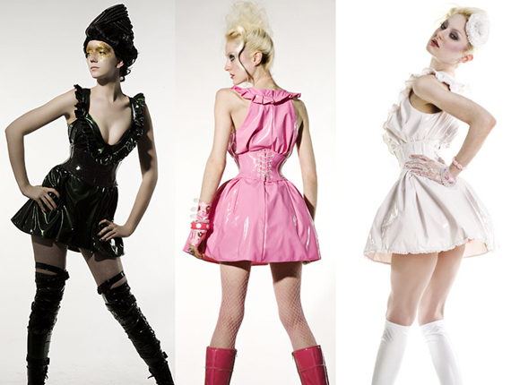 item of the week : cyber baby-doll dress