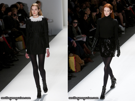 new york fashion week highlights : andy & debb