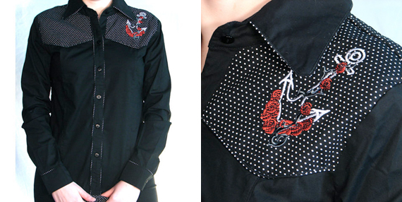 item of the week : howdy sailor shirt by living dead souls