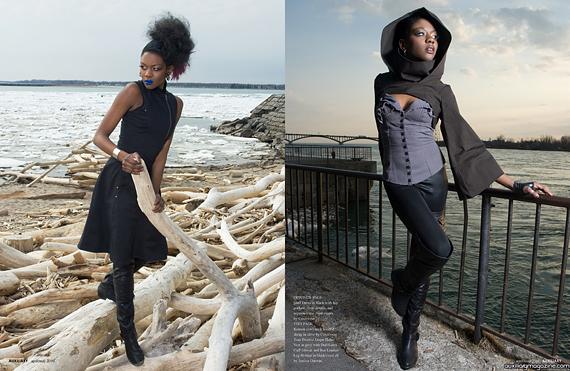 fashion editorial : scavenger
