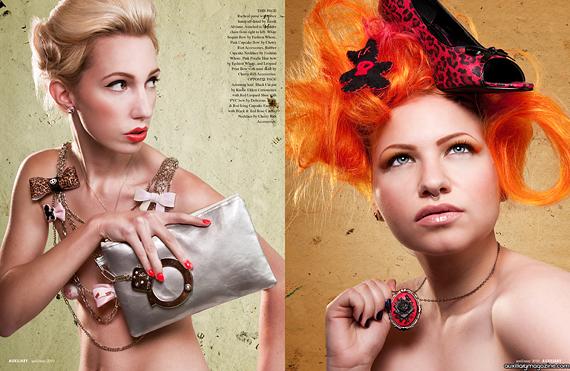fashion editorial : sugar pops
