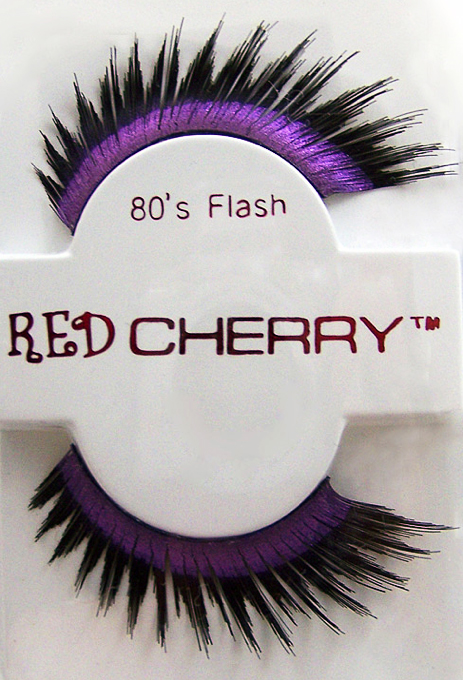 item of the week : 80s flash false eyelashes by red cherry