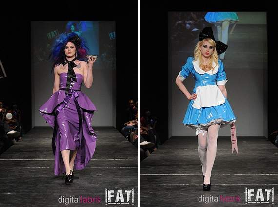 the runway at FAT : Fashion Whore