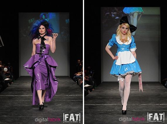 the runway at FAT : Fashion Whore