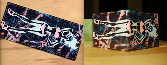 item of the week : hoochie ghoul wallet by Travis Pitts for Tinymeat