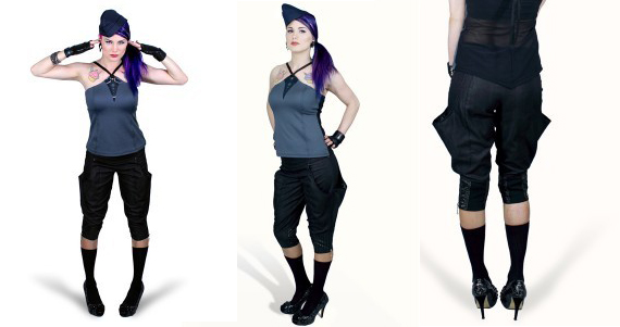 item of the week : oxide 3/4 length riding pants by Plastik Wrap