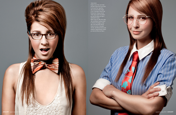 beauty editorial : get smart