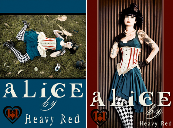 item of the week : tragic alice in wonderland costume by Heavy Red