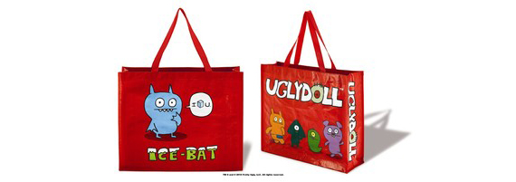 item of the week : red uglydoll tote bag by Uglydoll