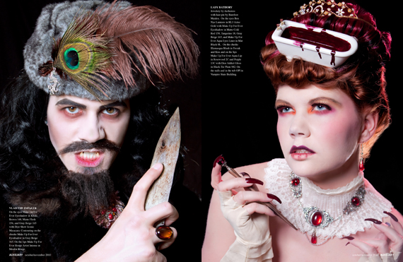 beauty editorial : malice aforethought