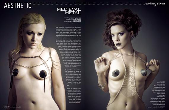 aesthetic : medieval metal