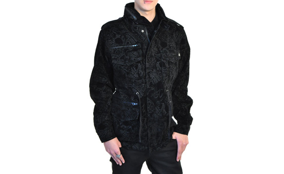 item of the week : bario muertos jacket by Iron Fist