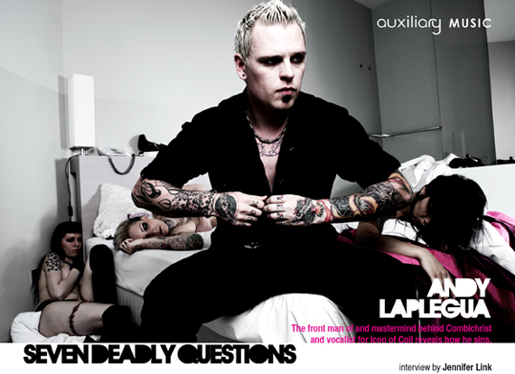 seven deadly questions : Andy LaPlegua