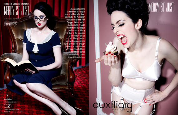 the PinUp : Mercy St Just