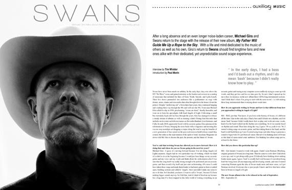 interview : Swans