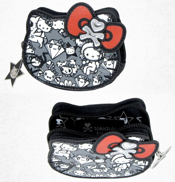item of the week : tokidoki x hello kitty die cut coin purse by Sanrio