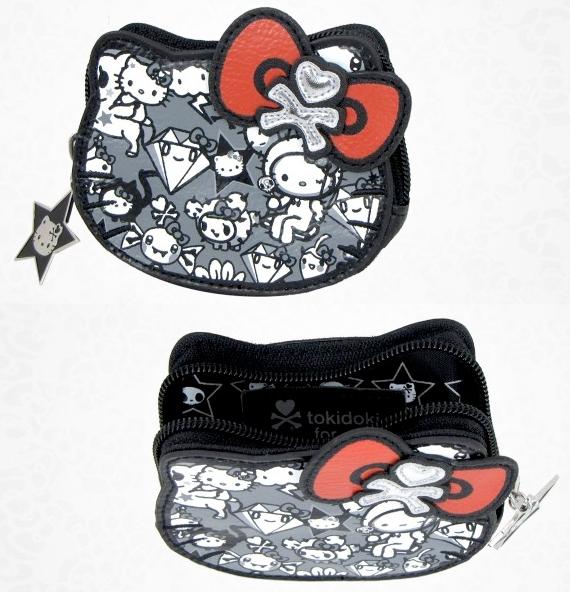 item of the week : tokidoki x hello kitty die cut coin purse by Sanrio