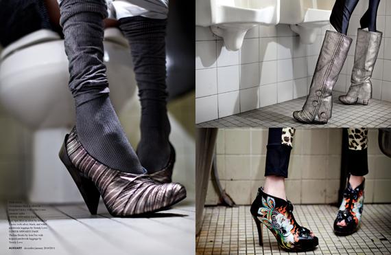 fashion editorial : fetish