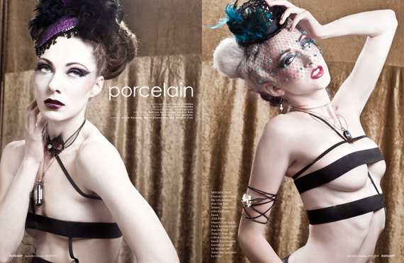 beauty editorial : porcelain