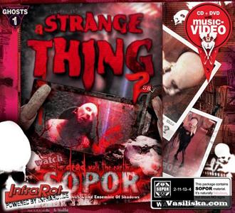music review : Sopor Aeternus & The Ensemble of the Shadows – A Strange Thing To Say