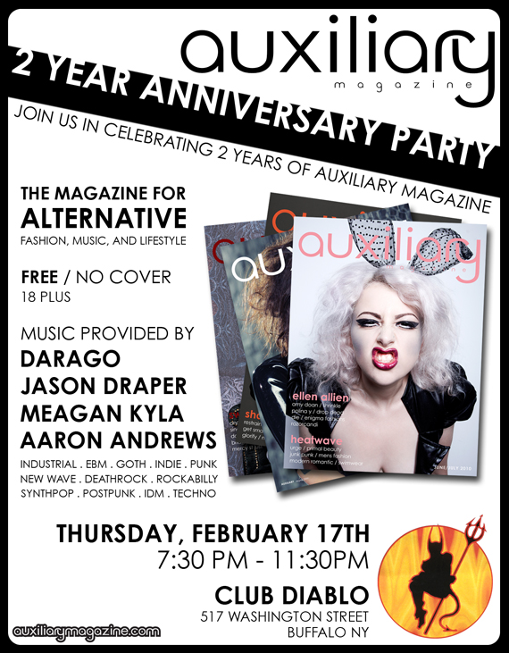 2 year anniversary party