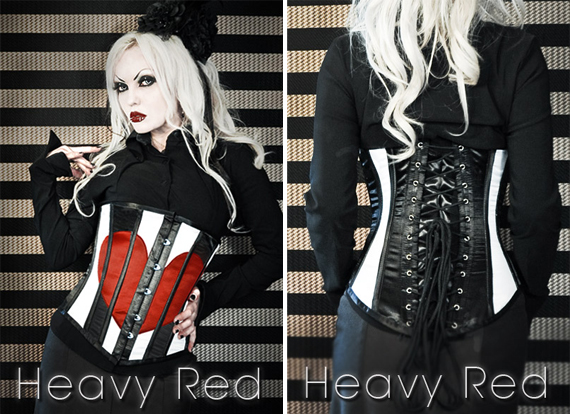 item of the week : fatal affection waist cincher by Heavy Red