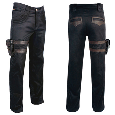 item of the week : mens holster pants by Steam Trunk