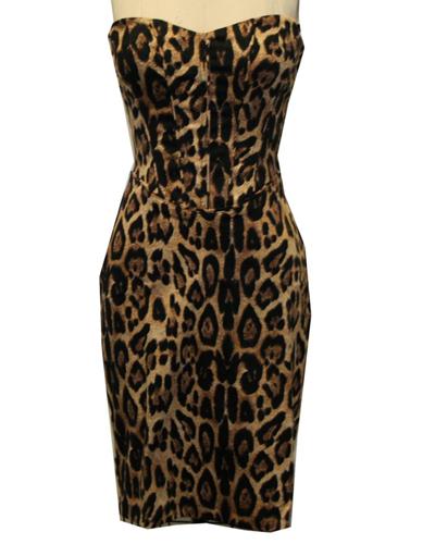 item of the week : natural cheetah jungle dress by Tripp NYC