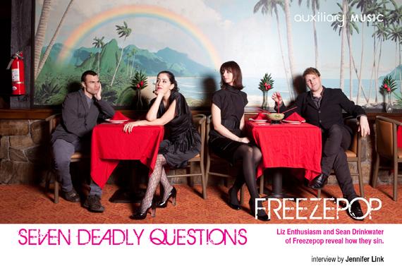 seven deadly questions : Freezepop