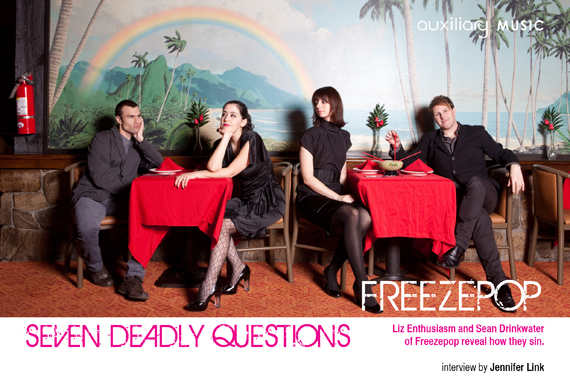 seven deadly questions : Freezepop