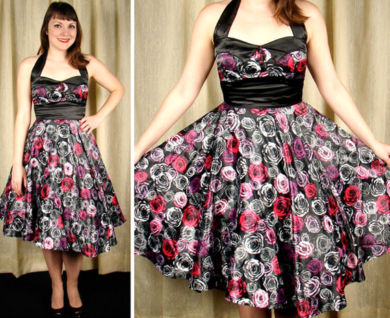 item of the week : rose vera swing dress by Hell Bunny