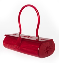 item of the week : paris lucite box purse by Lux De Ville