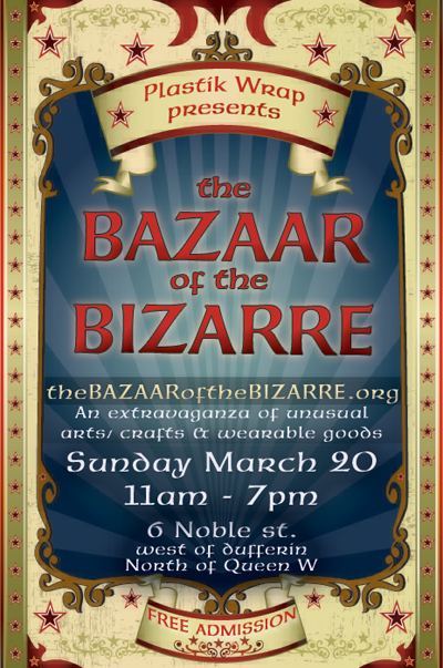 upcoming : The Bazaar of the Bizarre