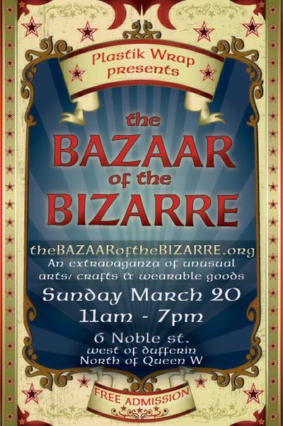 upcoming : The Bazaar of the Bizarre