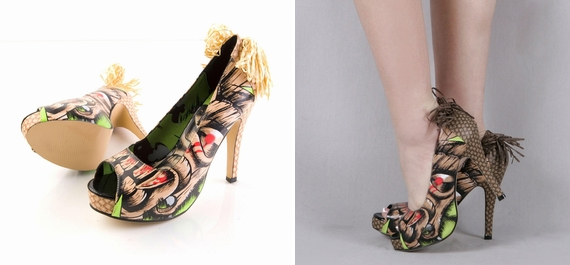 item of the week : tiki toes platform heels by Iron Fist Clothing
